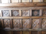 Barrington Court - panelled room